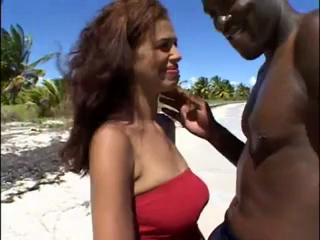 Nude Beach - Hot Latino   BBC