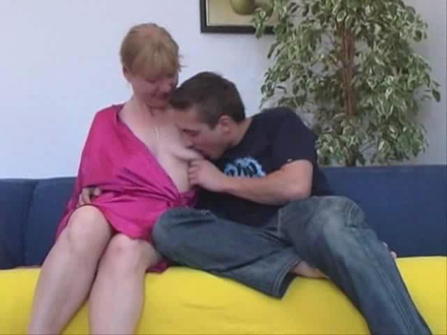 European Housewife Has Sex With A Younger Stud