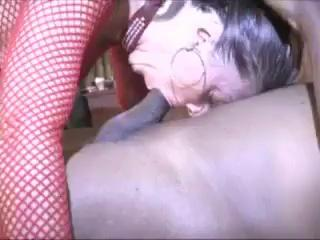 Wife in fishents fucked by bbc