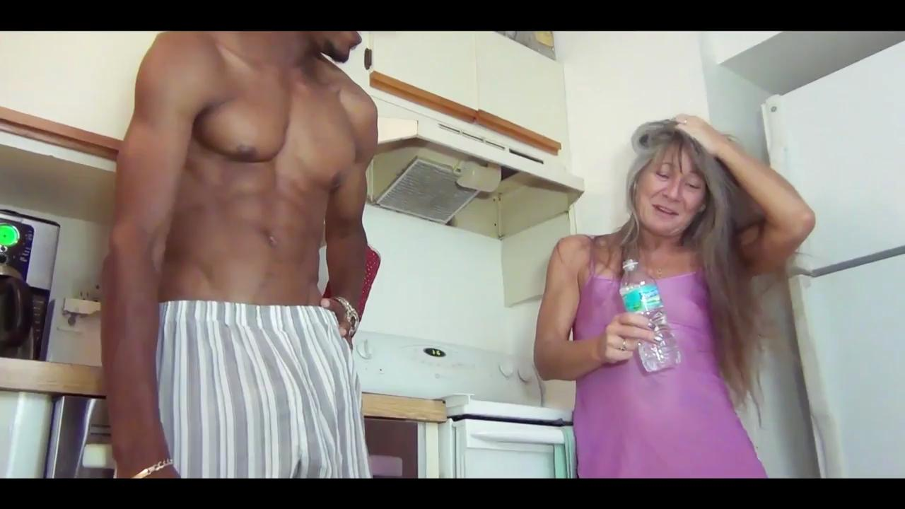 Fucking In The Kitchen With Granny