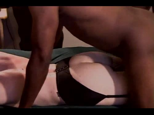 Slutty wife gangbanged in interracial sex