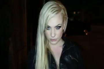 Hot blonde enjoys an IR pussy and ass pounding