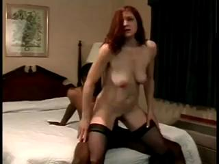 Horny ginger humps on a BBC