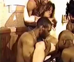 White slut wife gets multiple BBC creampies