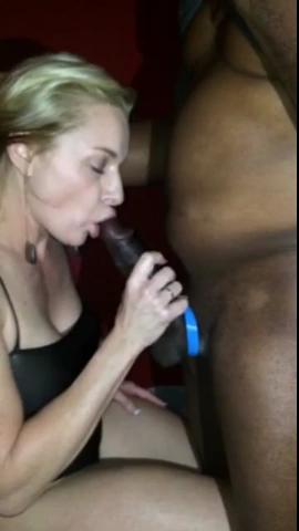 Hotwife Sucking BBC