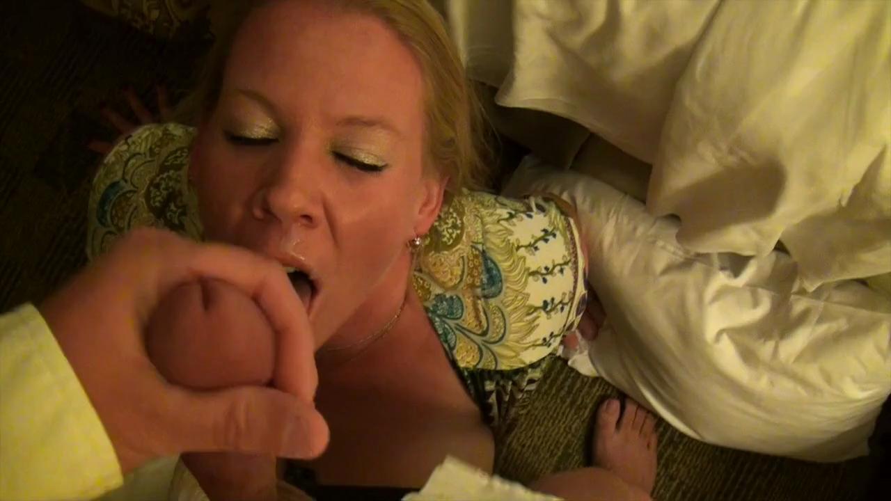 Slut Wife Takes Two Loads,