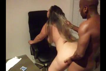 BBW Fucking BBC At The Office